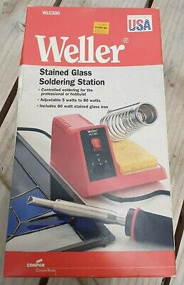 Weller Wlc200 Stained Glass Soldering Station 80 Watt Cooper Tools Made In Usa