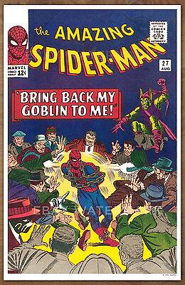 Amazing Spider Man  #27 poster art print '92  Steve Ditko Green Goblin