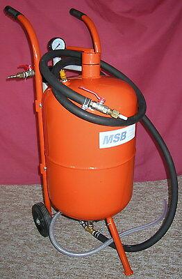 Millar Soda Blasting 10 gallon/40kg Soda/Hard Media Blaster