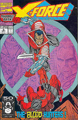 X-Force # 2 (Rob Liefeld, 2nd appearance Deadpool) (USA, 1991)