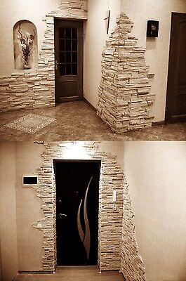 Klinker,Verblender,  Wand-Dekoration, Riemchen, Wandverkleid Florenzia   CREME