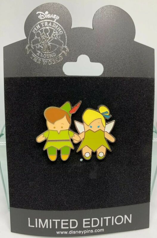 Disney Store Peter Pan & Tinker Bell Pook-A-Looz Pin LE 250 Think Tinkerbell