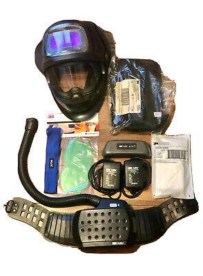 3m Adflo Air Purifying Respirator Speedglas Welding Helmet 9100fx Usednew