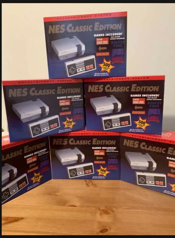 nes classic edition 500 games edition
