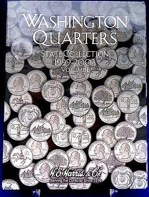 Harris Washington State Quarters Collection Vol #1 1999-2003 Coin Folder Book