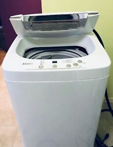 Apartment size Haier portable washer / whirlpool dryer 110Volt