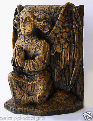 Angel Praying Medieval Church Cathedral Ornament Unique Hand Made Gift