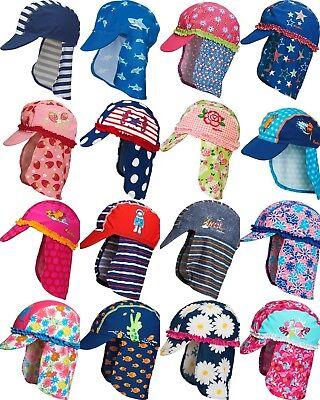 Playshoes Baby Kinder UV Schutz Sonnen Sommer Mütze Bademütze Hut  Gr. 49 -53 cm