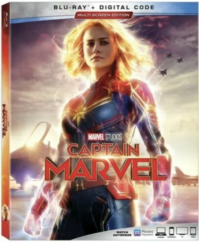 CAPTAIN MARVELW/SLIPCOVER NEW