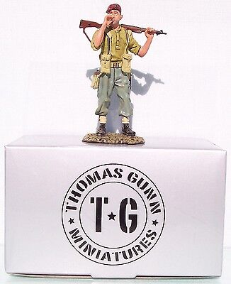 Thomas Gunn Ww2 British Normandy Gc008a The Rebel Paratrooper Smoking