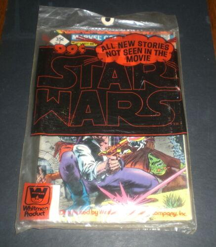 3 STAR WARS COMIC BOOKS WHITMAN BAGGED MARVEL COMICS  - 7  8  9