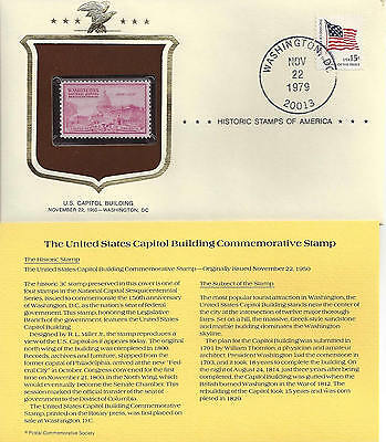 Historic Stamps of America UNITED STATES CAPITOL BUILDING Commemorative Stamp