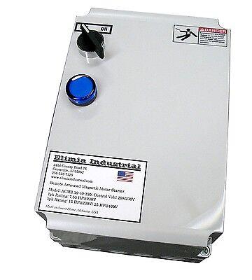 Elimia Acms 37-50-230lc 15 Hp 208v 230v Air Compressor Motor Starter Nema 4x