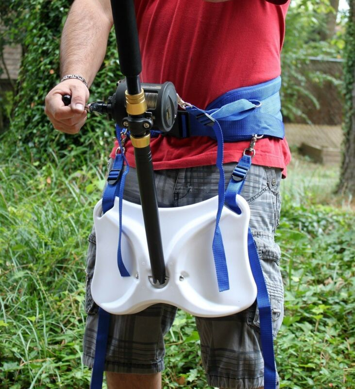 OFFSHORE FISHING STAND UP FIGHTING HARNESS BELT LARGE TO EXTRA LARGE