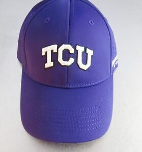 the best attitude 41f37 d5f72 Bridgestone Golf NCAA Performance Cap Hat One Fit Fitted TCU Horned Frogs