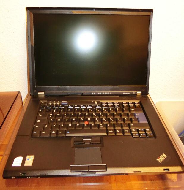 "Lenovo ThinkPad T61 15,4"" Core2Duo 2,10Ghz 4GB 120GB HDD Intel VGA Win7 Pro"