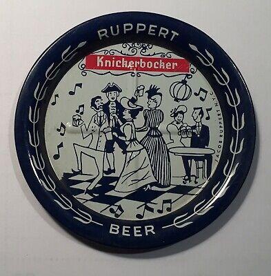 Ruppert Knickerbocher 2 Beer Metal Coaster
