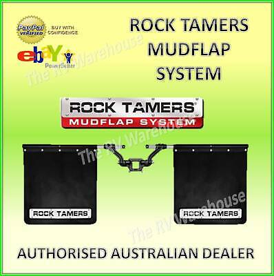 Car Parts - ROCK TAMERS MUDFLAP SYSTEM 4WD BOAT TRUCK RV CAR CARAVAN 4X4 ARB TJM JAYCO PARTS