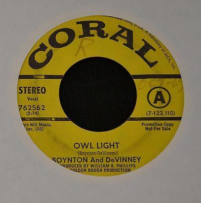 Boynton and DeVinney Coral DJ 762562 Owl Light and Lillian White