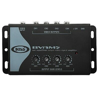 BOSS Audio BVAM5 One In/Four Out Car Video Signal Amplifier