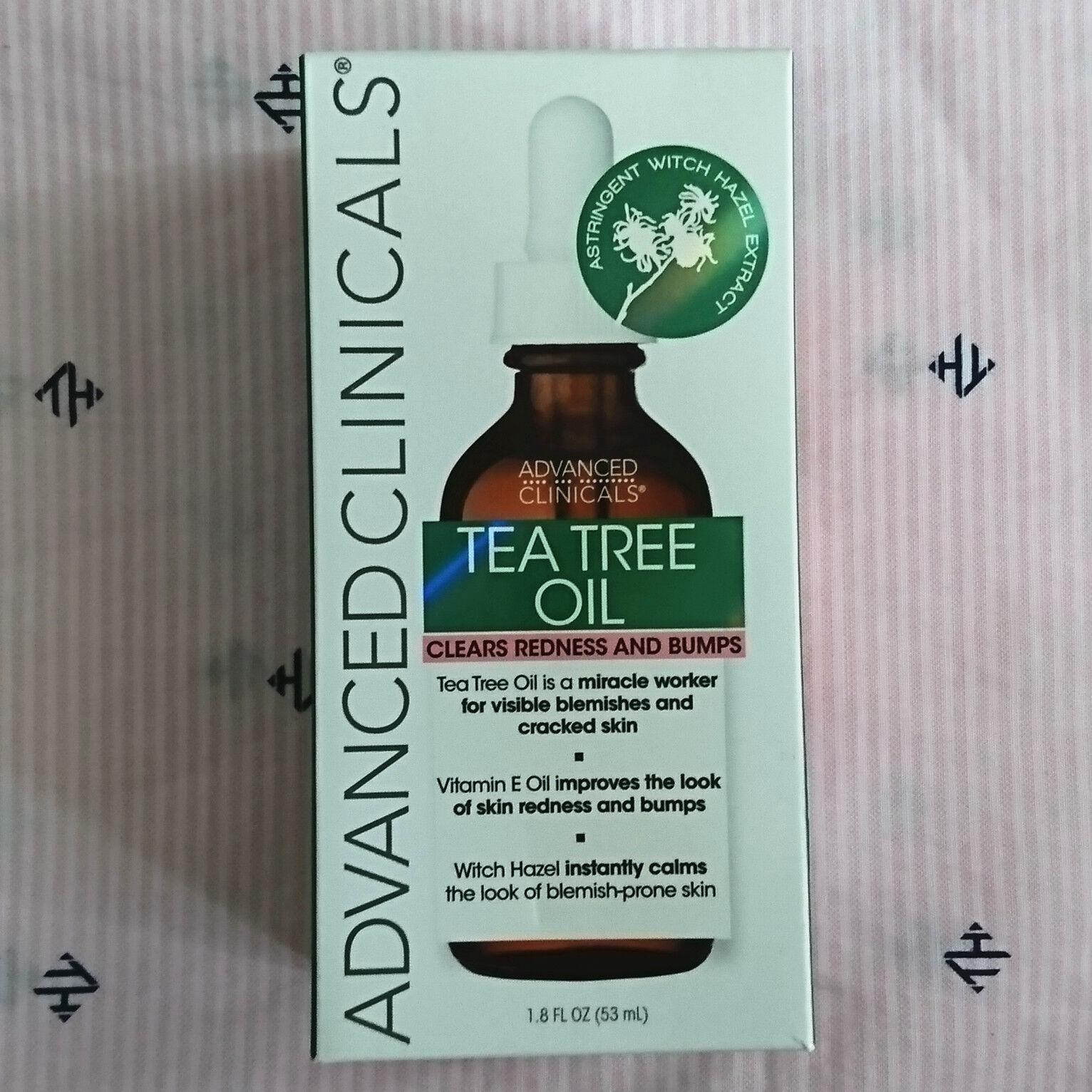 tea tree oil face oil vitamin e