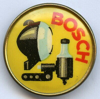 Germany BOSCH Vintage Bicycle Motor Car Automobile Advertising Badge Pin !!!