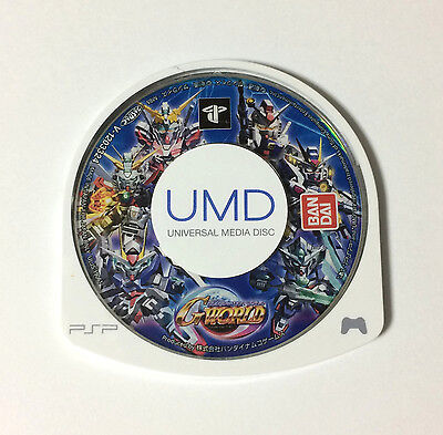 USED PSP Disc Only SD Gundam G Generation World JAPAN PlayStation Portable game