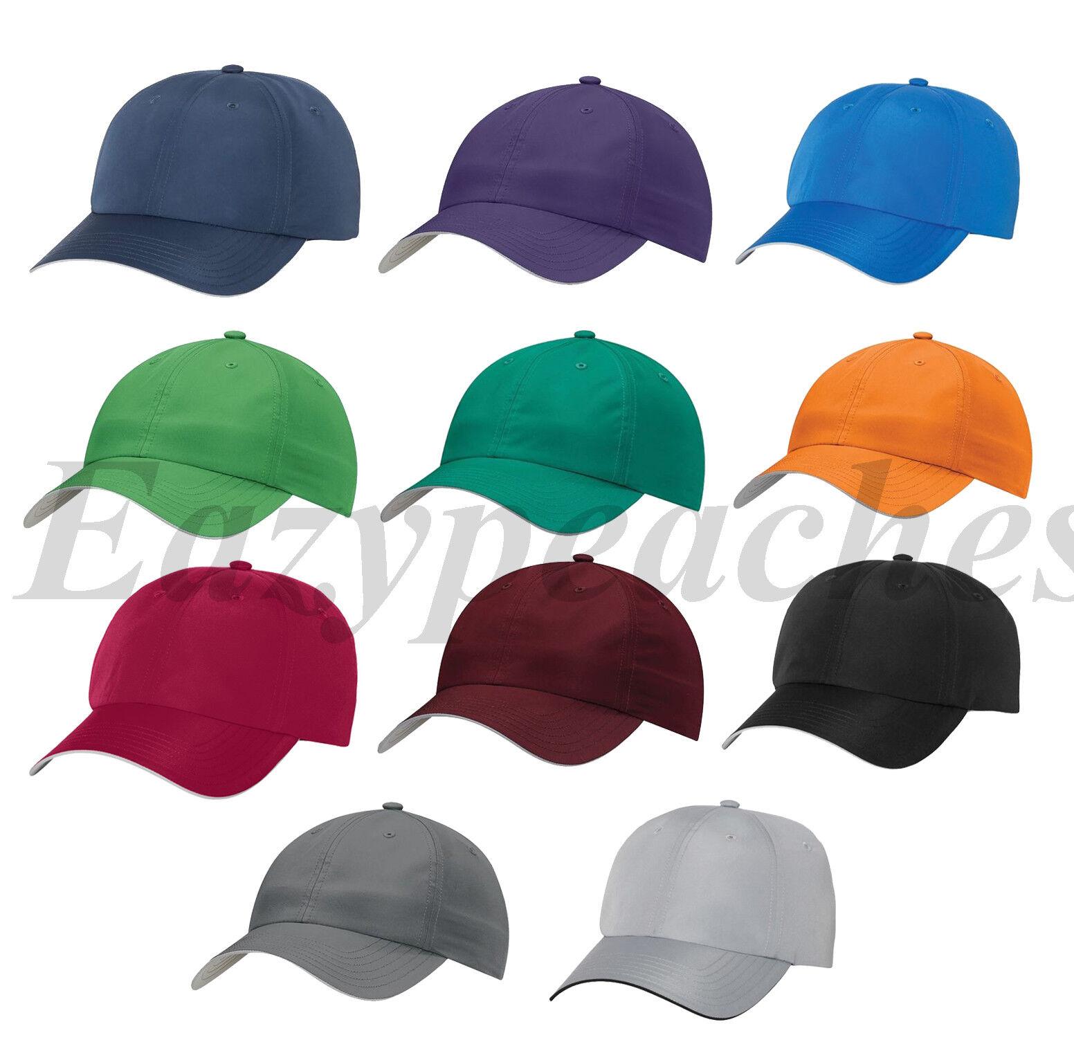 ADIDAS - Adjustable GOLF HAT, NEW Men's Poly Performance Rel