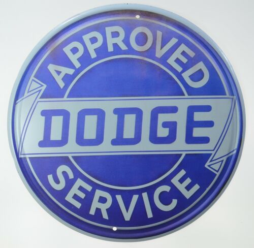 "Dodge Truck Approved Service Part Gas Oil Garage Retro Metal Tin Sign 12"" NEW"