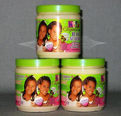 3 Protein Conditioner (3 x AFRICA`S BEST Kids Organic Hair Nutrition Protein Enriched Conditioner 1296m)