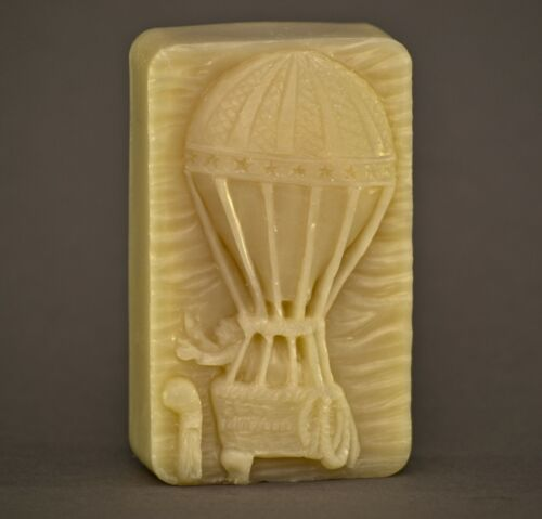 AIR BALLON SILICONE MOLD soap wax resin plaster clay bath BOMB