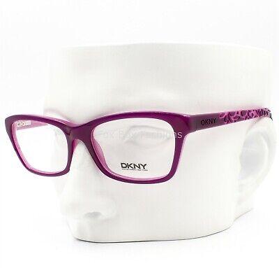 Dkny DY 4649 3637 Eyeglasses Frames Glasses Purple Violet On Pink 51-16-140