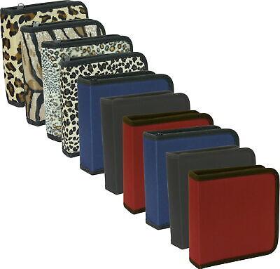 Cd-tasche (10er Pack CD-Tasche für jeweils 24 CDs oder DVDs, Etuis CD Taschen Restposten)