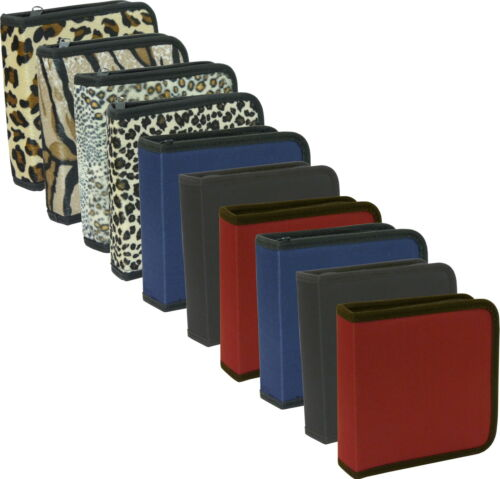 10er Pack CD-Tasche für jeweils 24 CDs oder DVDs, Etuis CD Taschen Restposten