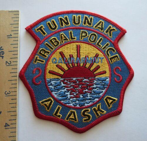 TUNUNAK ALASKA TRIBAL POLICE PATCH Vintage Original
