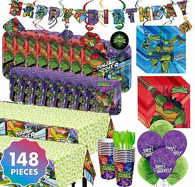 Party City Teenage Mutant Ninja Turtles Party Kit for 16 Guests, With Balloons - Party City Teenage Mutant Ninja Turtles