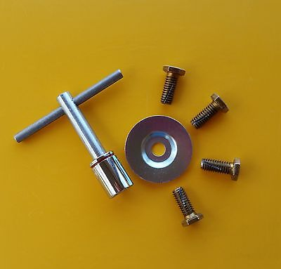 Parts For Hiretech Ht7 Hardwood Floor Sander Edger Sandpaper Bolts Wrench Washer