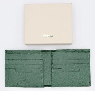 ROLEX WALLET SAFFIANO LEATHER PIEL EXCLUSIVE CARTERA BILLETERA UNIQUE NEW BOX