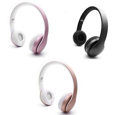 Kabellos Bluetooth über die Ohr Kopfhörer mit Mikrofon Sport Kabellos