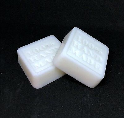 100% Handmade Natural Goat Milk Soap Bars Unscented 4 Oz. (+/-)