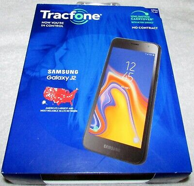 Samsung Galaxy J2 16GB Tracfone Android Smartphone Factory Sealed NEW