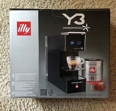 Brand New illy Francis Francis IperEspresso Y3 Espresso Coffee Capsule Machine