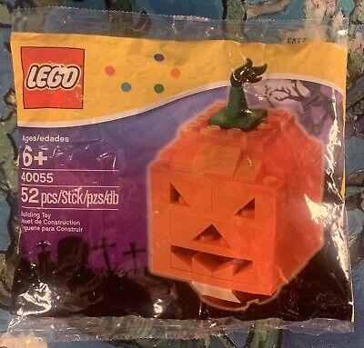 Lego Rare Special Collectors Edition Orange Halloween Pumpkin 40055 Item#6015960