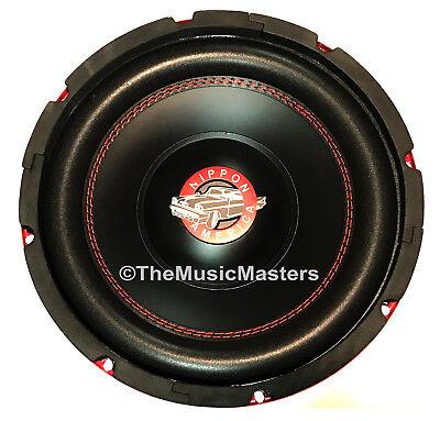 "10"" inch Home Stereo Sound Studio WOOFER Subwoofer Speaker B"