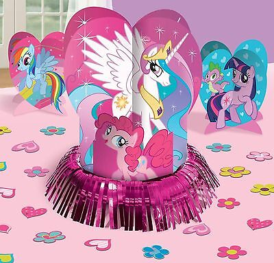 MY LITTLE PONY TABLE DECORATION KIT Centerpiece confetti Birthday Party Supplies
