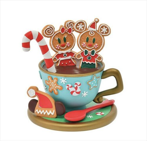 Disney Store Japan 2020 Gingerbread Cookie Accessory Stand Christmas Mickey New