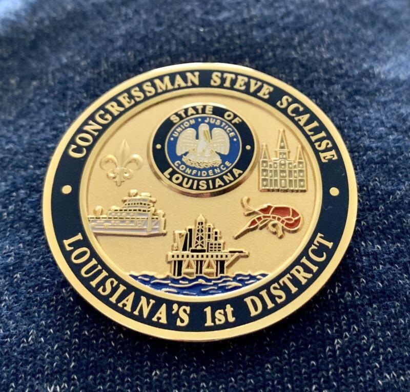 Congressman Majority Whip Steve Scalise Louisiana Representatives Election Coin