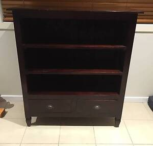 Solid Wooden Bookcase Watsonia North Banyule Area Preview