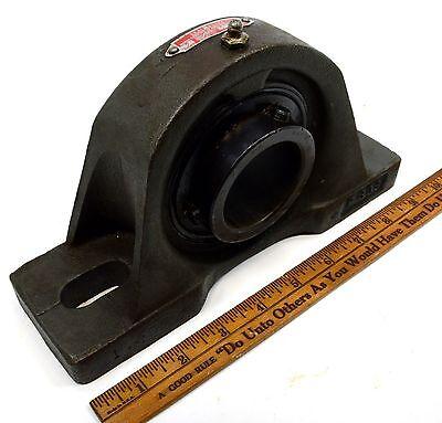 Briefly Used Sealmaster Morse No. Mp-32 Pillow Block Bearing 2-bolt 2 Shaft