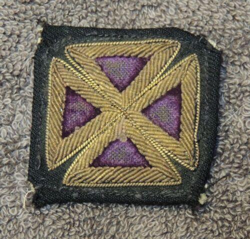 Knights Templar Past Grand Commander Maltese Cross Insignia  (Item #2151)